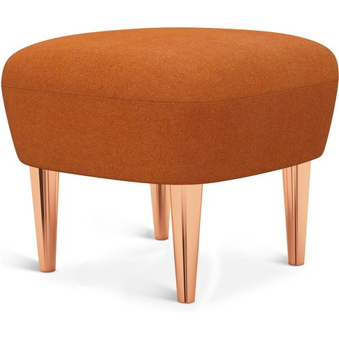 Tom Dixon - Wingback Ottoman Copper Leg Tonica 2 0543