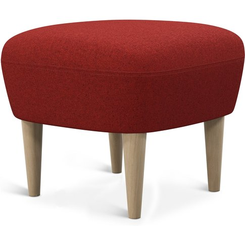 Tom Dixon - Wingback Ottoman Natural Leg Tonica 2 0611