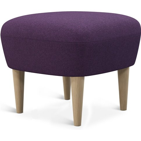 Tom Dixon - Wingback Ottoman Natural Leg Tonica 2 0672