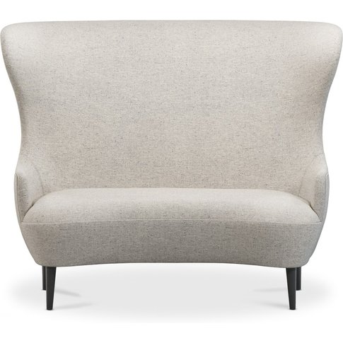 Tom Dixon - Wingback Sofa Black Leg Alchemy 0604