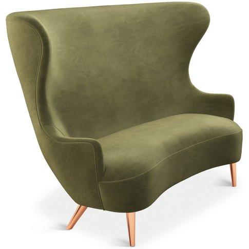 Tom Dixon - Wingback Sofa Copper Leg Cassia 41