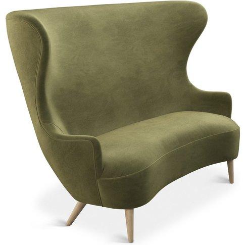 Tom Dixon - Wingback Sofa Natural Leg Cassia 41
