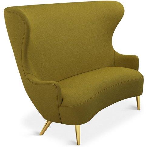 Tom Dixon - Wingback Sofa Brass Leg Denim 0707