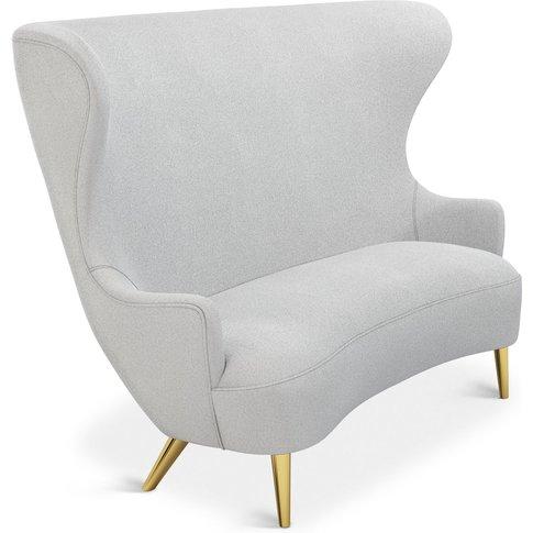 Tom Dixon - Wingback Sofa Brass Leg Mollie Melton 0103