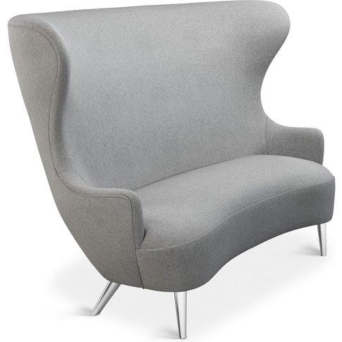 Tom Dixon - Wingback Sofa Chrome Leg Mollie Melton 0104