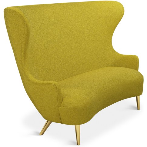 Tom Dixon - Wingback Sofa Brass Leg Tonica 2 0411