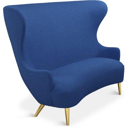 Tom Dixon - Wingback Sofa Brass Leg Tonica 2 0732
