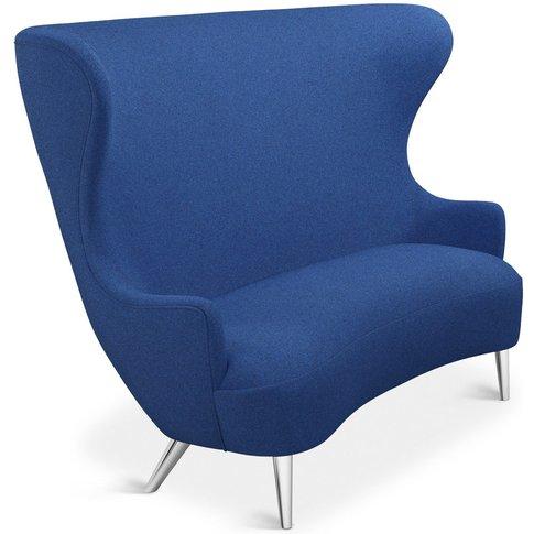 Tom Dixon - Wingback Sofa Chrome Leg Tonica 2 0732
