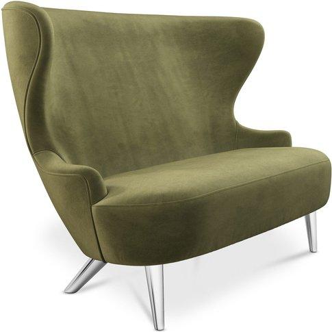 Tom Dixon - Micro Wingback Sofa Chrome Leg Cassia 41