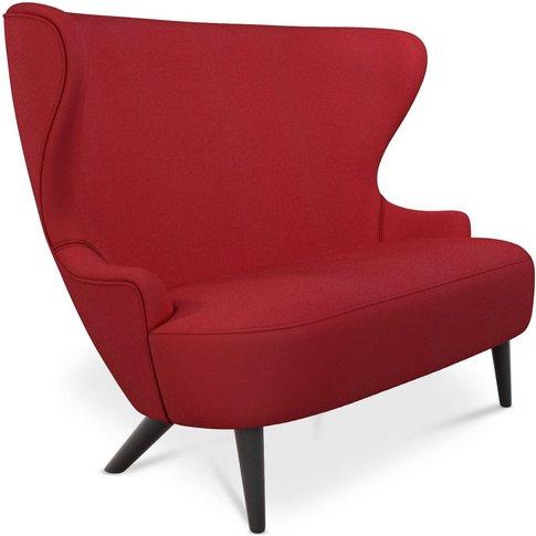 Tom Dixon - Wingback Micro Sofa Black Oak Leg Denim ...