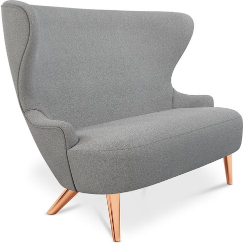 Tom Dixon - Micro Wingback Sofa Copper Leg Mollie Me...