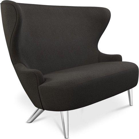 Tom Dixon - Micro Wingback Sofa Chrome Leg Mollie Me...