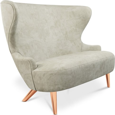 Tom Dixon - Micro Wingback Sofa Copper Leg Royal Nub...