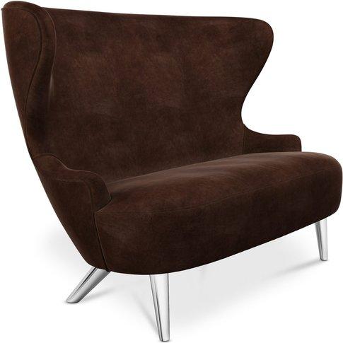 Tom Dixon - Micro Wingback Sofa Chrome Leg Royal Nub...