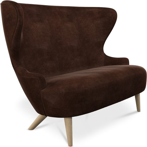 Tom Dixon - Micro Wingback Sofa Natural Leg Royal Nu...