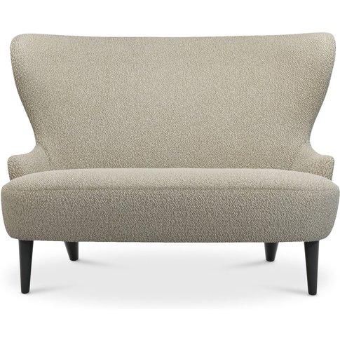 Tom Dixon - Micro Wingback Sofa Black Leg Storr 0501