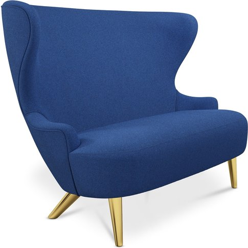 Tom Dixon - Micro Wingback Sofa Brass Leg Tonica 2 0732