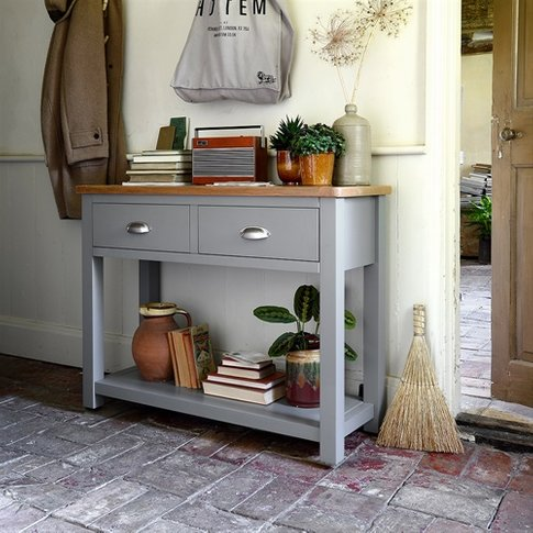 Sussex Grey Console Table