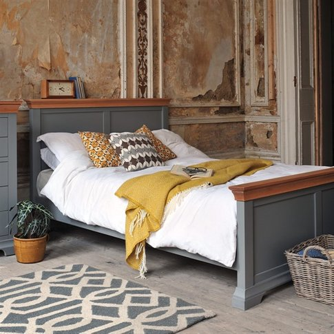 Regatta Grey 5ft Kingsize Bed