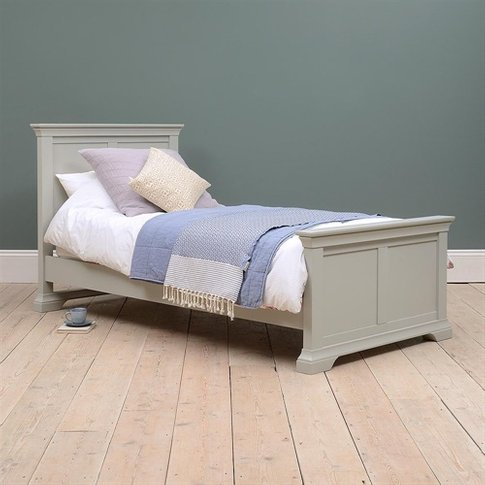 Chambery Grey Painted 3ft Single Bed