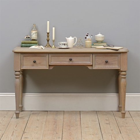 Hadley Smoked Oak Dressing Table