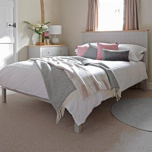 "Malvern Mink 4'6"" Double Bed"