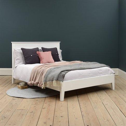 Winstone White 5ft Kingsize Bed
