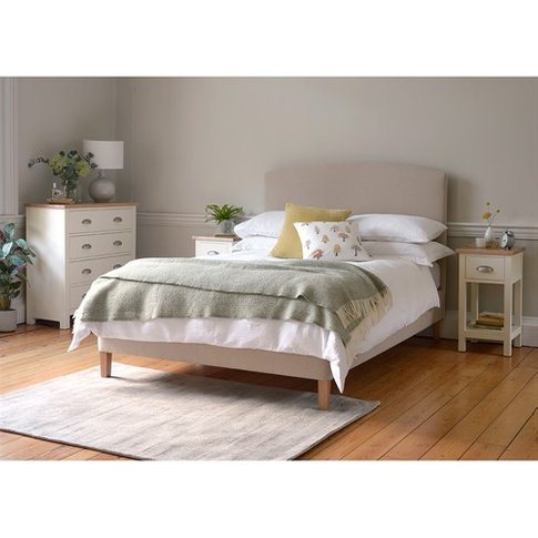 "Cecily 4ft 6"" Double Bed - Sand"