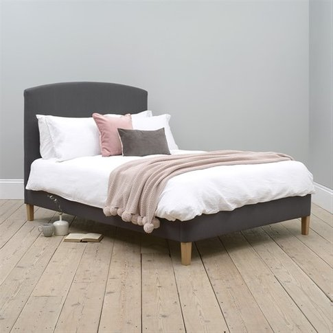"Cecily 4ft 6"" Double Bed - Anthracite"