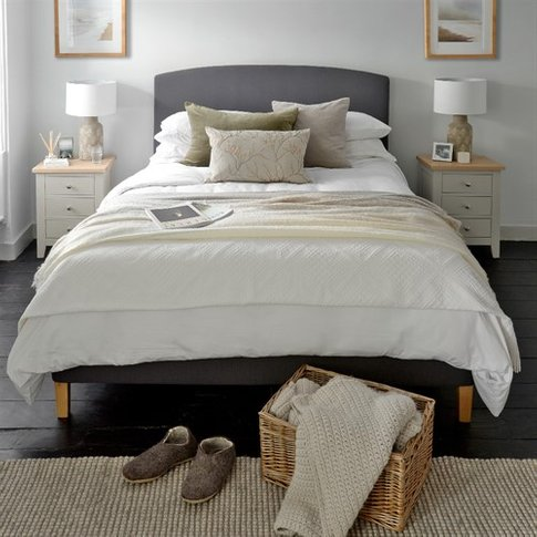 Cecily 5ft Kingsize Bed - Anthracite