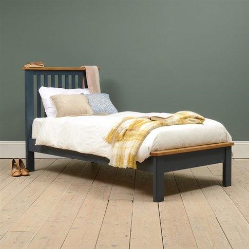 Westcote Blue 3ft Single Bed