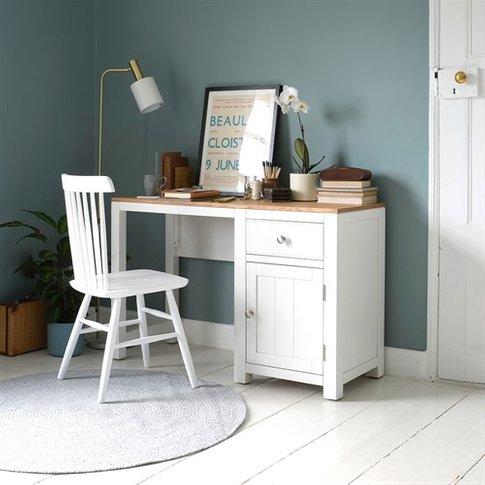 Chalford Painted Single Pedestal Desk