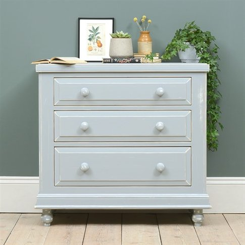 Banbury Grey Painted 3 Drawer Chest