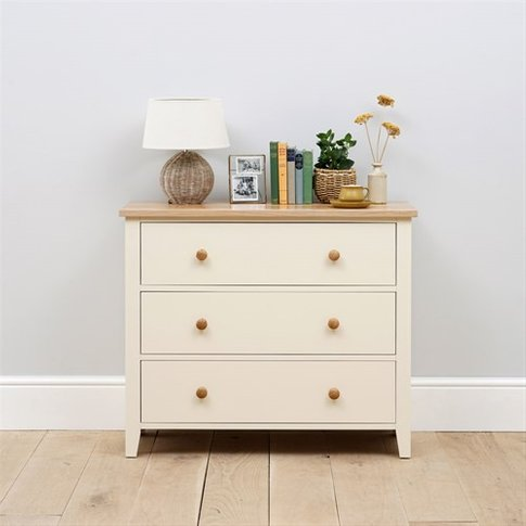 Mottisfont Painted 3 Drawer Chest