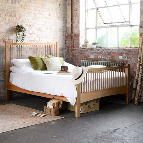 Milton Oak 5ft Kingsize Bed