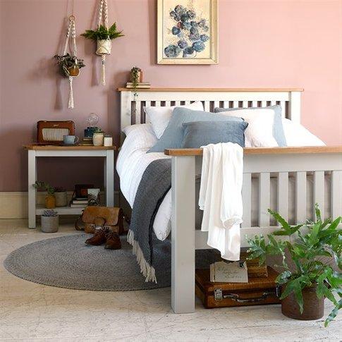 Portland Grey 5ft Kingsize Bed
