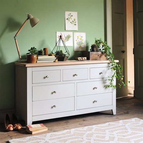 Chester Grey 3 Over 4 Chest Of Drawers