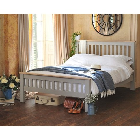 "Chester Grey 4ft 6"" Double Bed"