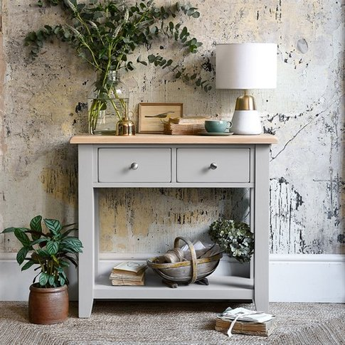 Chester Grey Console Table