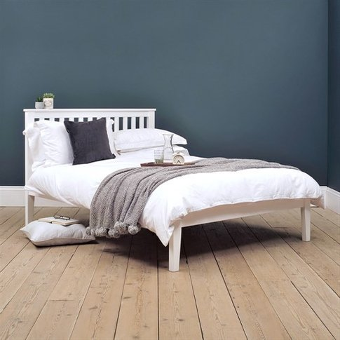 "4ft 6"" Double Bed - White"