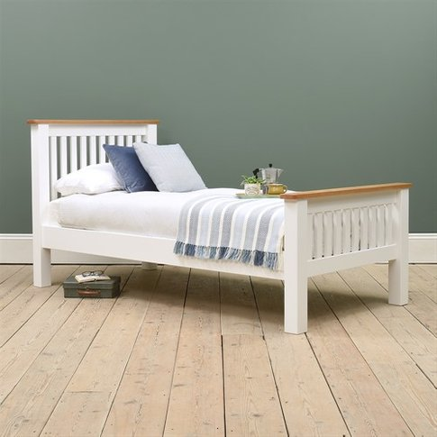 Snowshill White 3ft Single Bed