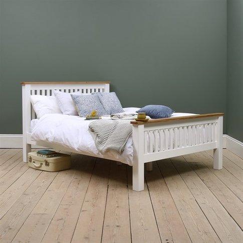 Snowshill White 5ft Kingsize Bed