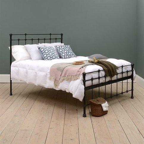Hatton 5ft Kingsize Bed - Black
