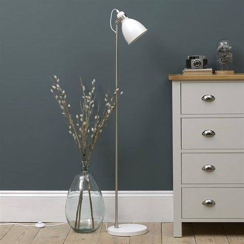 Blake Floor Lamp - White