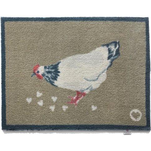 Charlie Chicken Doormat