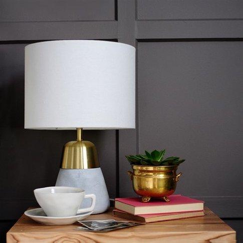 Aurene Table Lamp - Gold