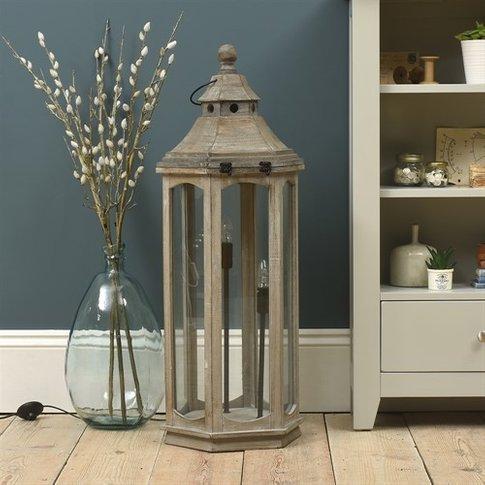 Safaa Lantern Style Floor Lamp
