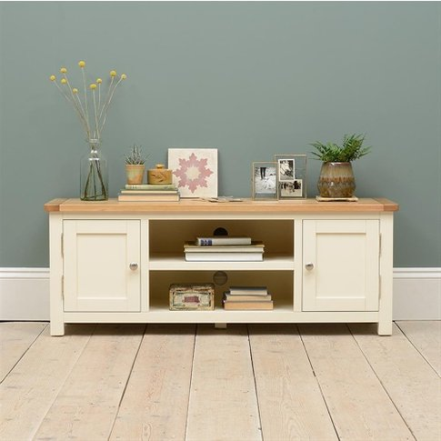 """Sussex Painted Widescreen Tv Unit - Up To 60"""""""