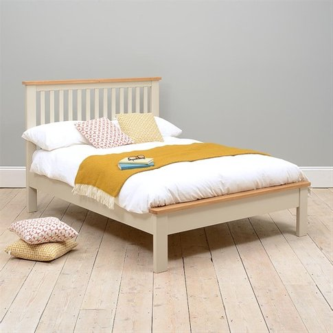"Lundy Stone 4ft 6"" Double Bed"