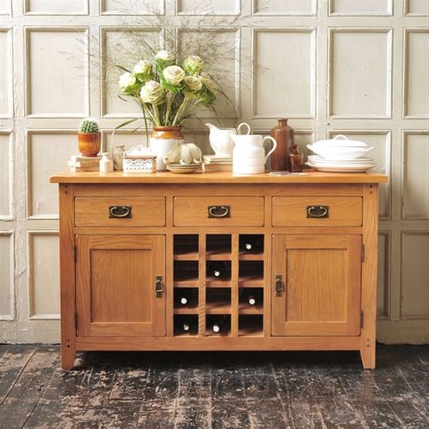 Oakland Sideboard with Wine Rack
